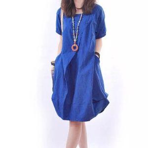 Loose Fitting Harem Vibe Fun Dress